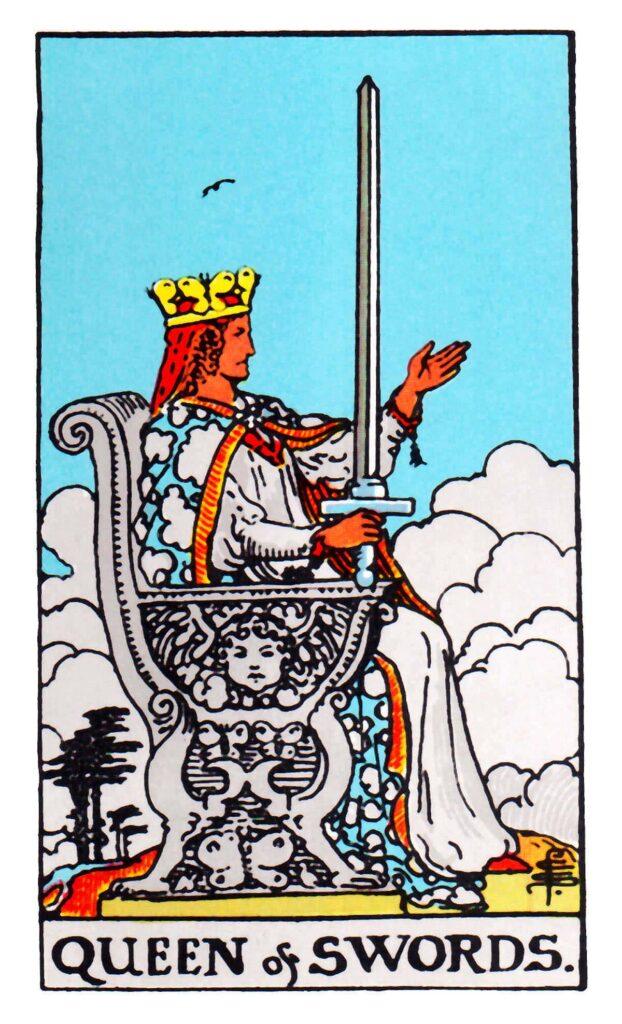 Królowa Mieczy Tarot