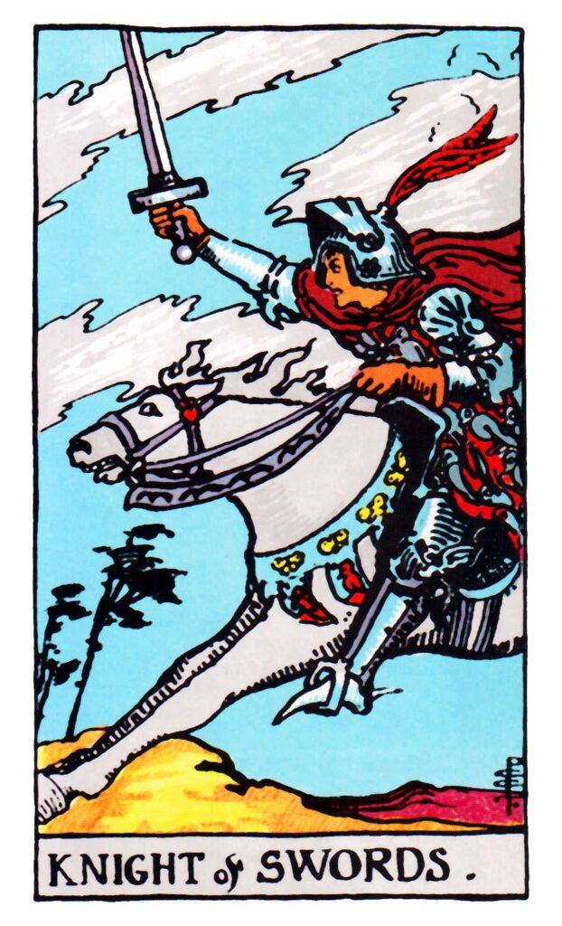 Rycerz Mieczy Tarot