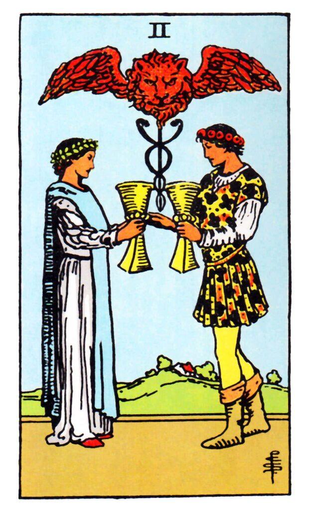 2 Pucharów Tarot
