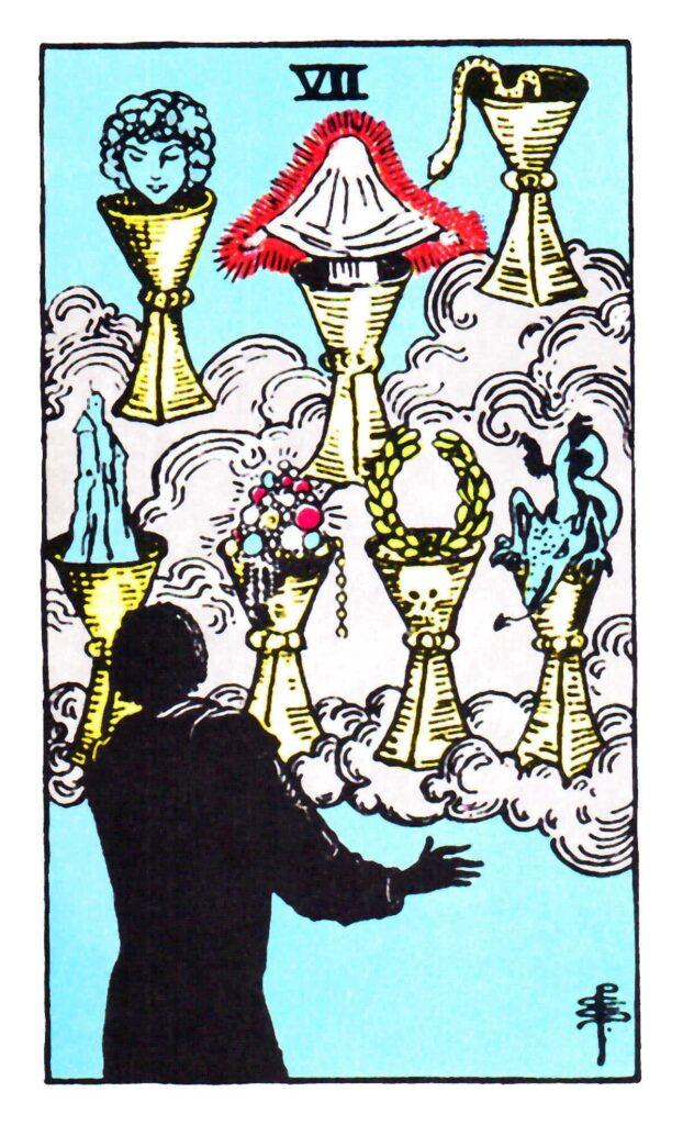 7 Pucharów Tarot