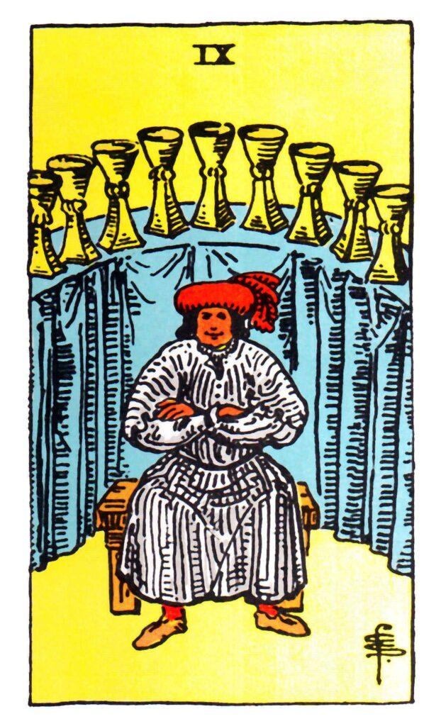 9 Pucharów Tarot