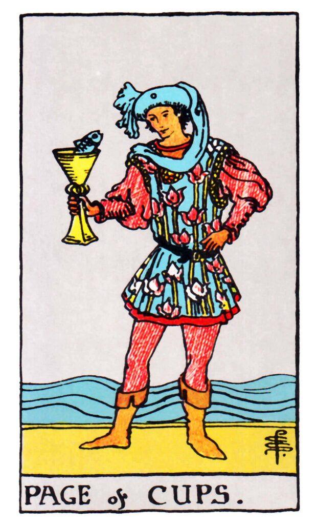 Giermek Pucharów Tarot
