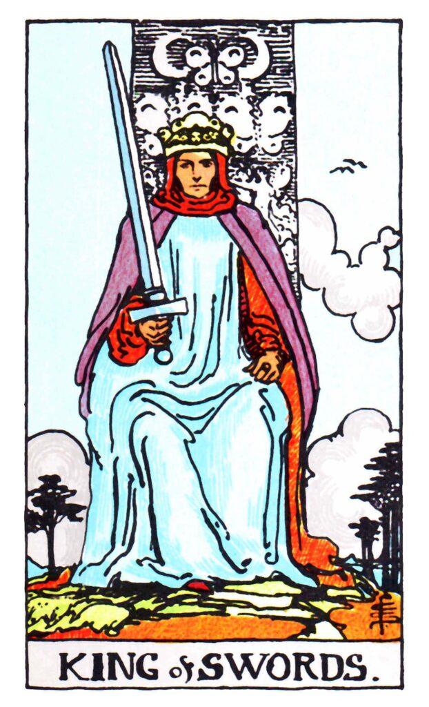 Król Mieczy Tarot